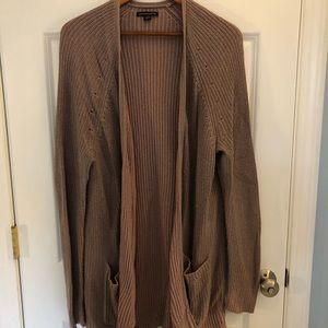 American Eagle Dusty Lavender Knit Cardigan XL